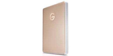 """Uno de los discos duros de 2,5"""" más rápidos, el G-Technology G-Drive Mobile USB-C, con  2 TB, hoy en oferta en Amazon, por sólo 91,19 euros"""