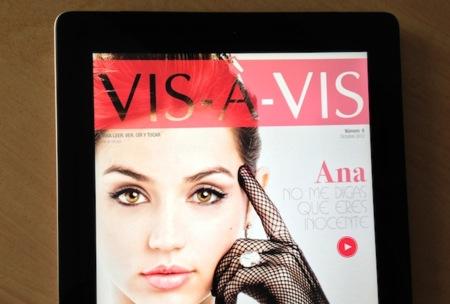 La revista gratuita Vis-à-Vis para iPad lanza su nuevo número de Octubre con espectaculares novedades
