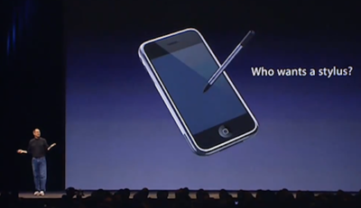 "Apple gana una patente del 2010 sobre una Stylus un tanto especial, la ""Communicating Stylus"""