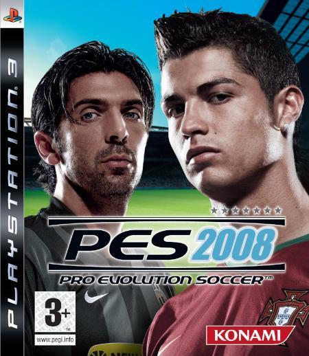 Desvelada la portada oficial de 'PES 2008'