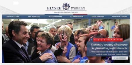La Presidencia francesa renueva su web
