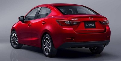 Así será el Mazda2 Sedán 2015... y lo veremos pasar