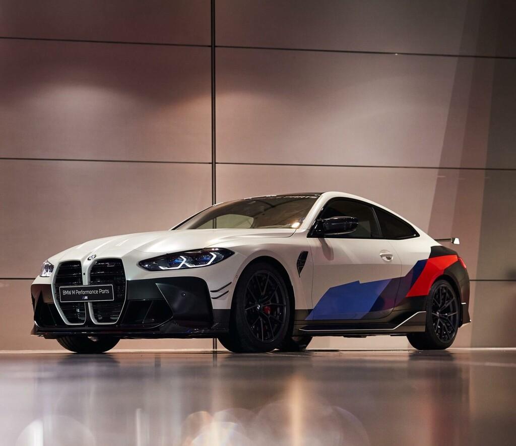 El BMW M4 puede lucir tan extravagante como este sin acudir a terceros gracias a sus M Performance Parts