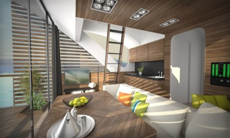 The Floating Catamaran Hotel Saltwater Design Studio 4