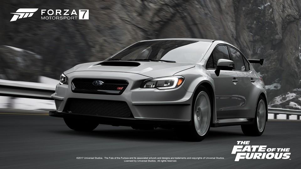 Foto de The Fate of the furious en Forza Motorsports 7 (7/8)