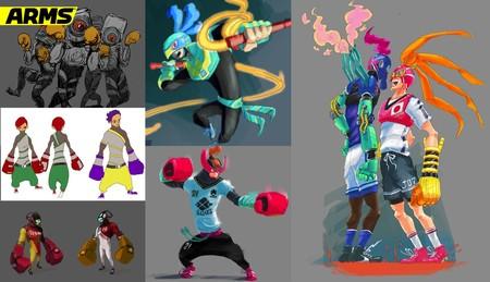 Así fue el desarrollo original de ARMS y la creación de los primeros diseños de los personajes