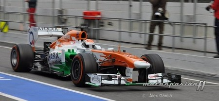 Force India confirma a Adrian Sutil para 2013