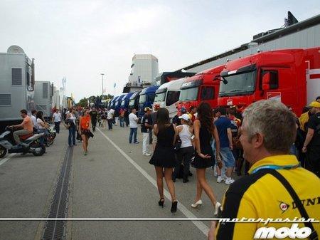MotoGP España 2011: un paseo por el paddock