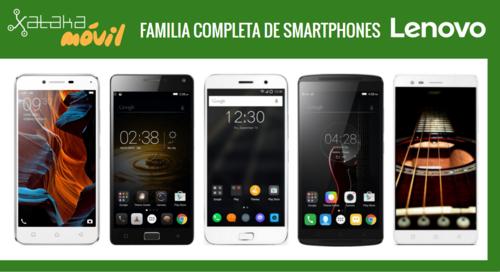 Así queda el catálogo de smartphones Lenovo tras la llegada de los nuevos Lenovo Vibe K5 y K5 Plus