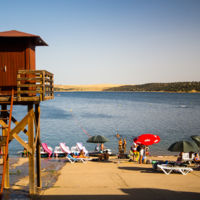 Cinco playas españolas... lejos del mar