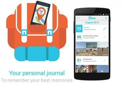 Rove, el popular diario personal de iOS llega a Android