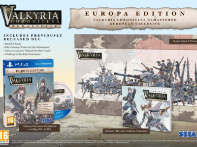 Valkyria Chronicles Remastered llegará a Europa en mayo con una edición exclusiva