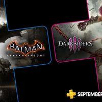 Darksiders III y Batman: Arkham Knight entre los juegos de PlayStation Plus en septiembre