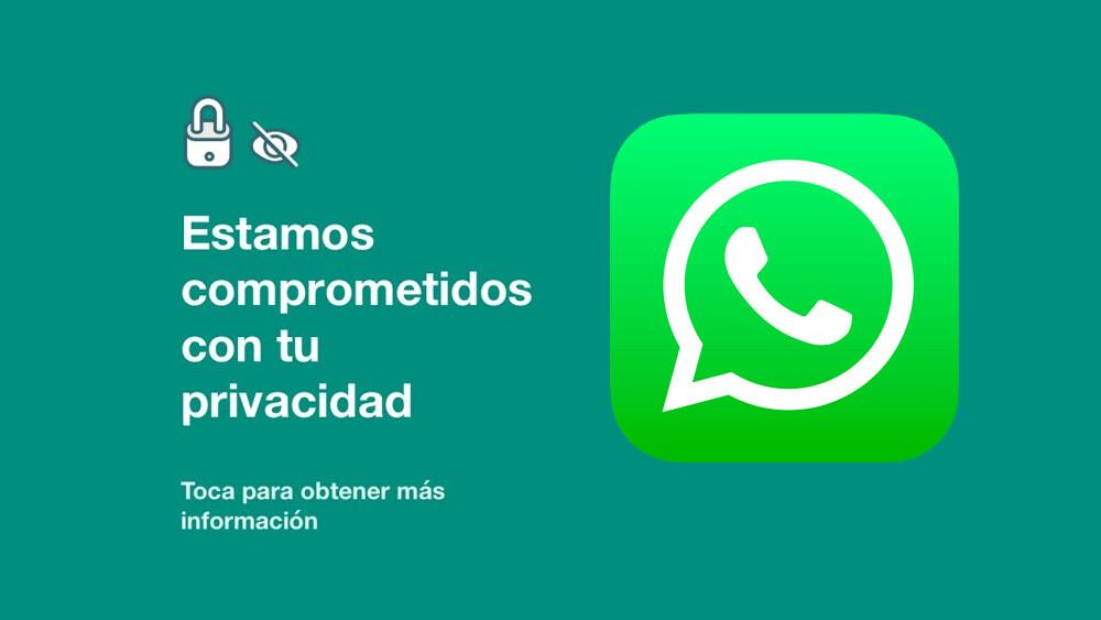 WhatsApp hasta stories tuvo que sacar en su app para reiterar que no pueden leer ni escuchar las conversaciones personales