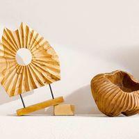 100% materia en la nueva colección de Zara Home