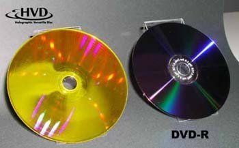 Discos holográficos de 300 GB, la próxima semana