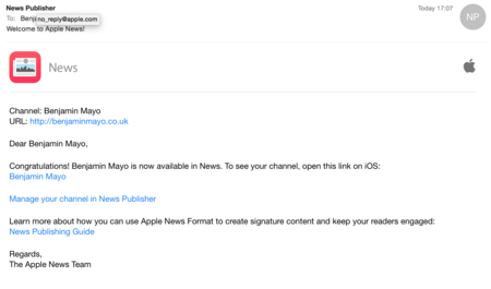 Apple empieza a aceptar los primeros contenidos para News