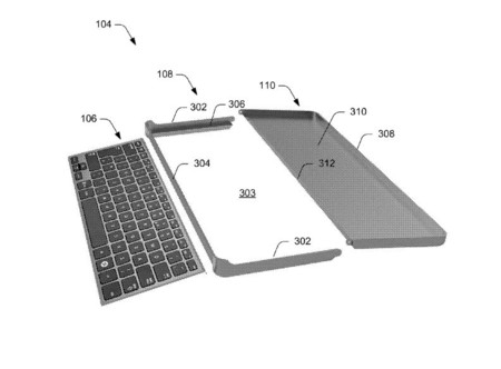 Microsoft Keyboard Accessory Patent 2