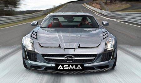 Mercedes-Benz SLS AMG por ASMA Design, ¿cruel Dolorpasión™?