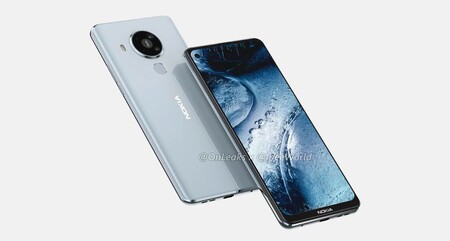 El Nokia 7.3 con 5G filtrado al completo mostrando su futuro diseño y características