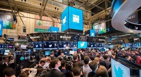 Las acciones de Twitter pasan de 26 a 45 dólares en cuestión de minutos