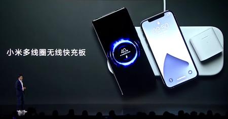 Xiaomi tiene su propio Airpower: una base de carga inalámbrica con 19 bobinas para cargar tres dispositivos a la vez