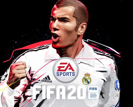 Zinedine Zidane encabeza la portada de la edición ultimate de FIFA 20 y tendrá su propio icono de FUT