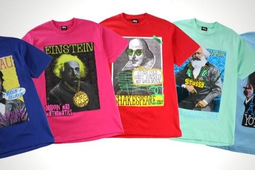 Foto de Renueva a los grandes genios en originales camisetas (1/6)