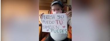 """""""Si yo puedo, tú también puedes"""": el emotivo mensaje de una niña que estuvo 162 días en aislamiento por un trasplante"""