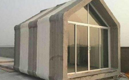 En China te imprimen diez casas en 24 horas, con materiales reciclados