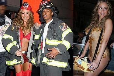 Los disfraces de los famosos en Halloween 2008