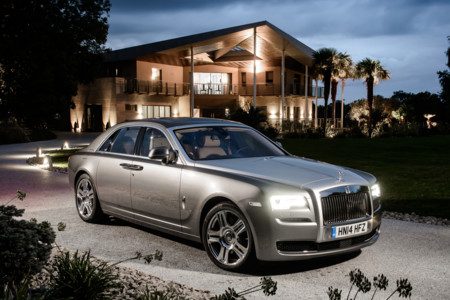 Rolls Royce Ghost 4