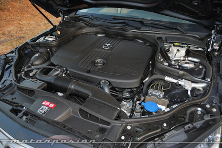 Mercedes-Benz E 220 CDI motor