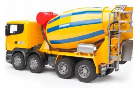 Camion Hormigonera De Juguete