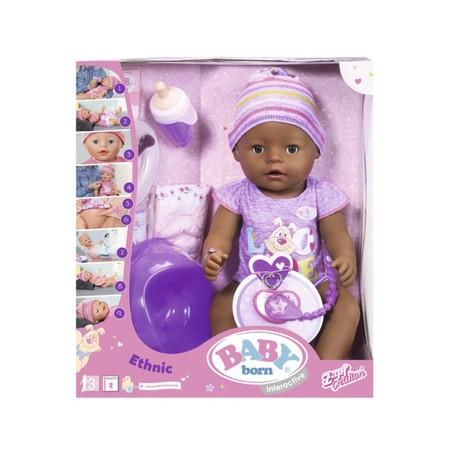 La muñeca Baby Born Étnica Interactiva está a la venta en Amazon por 49,07 euros con envío gratis