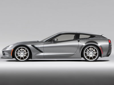 Transformar tu Corvette Stingray en shooting brake es tan fácil como cambiar de portón trasero