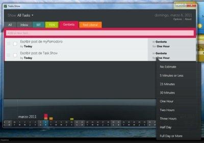 Task.Show, excelente gestor de tareas con interfaz inspirada en Metro