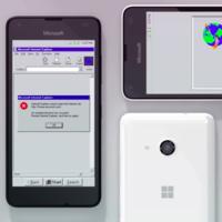 Una pesadilla para diseñadores, el concepto que imagina Windows 95 como un sistema operativo móvil