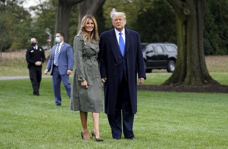 Melania Trump Michael Kors Trench 02