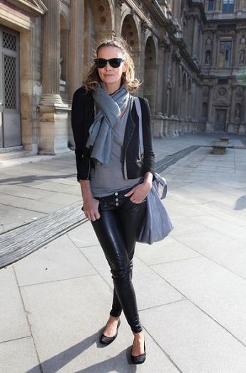 Top models e it girls a las puertas y en el front row del desfile de Louis Vuitton: sus looks