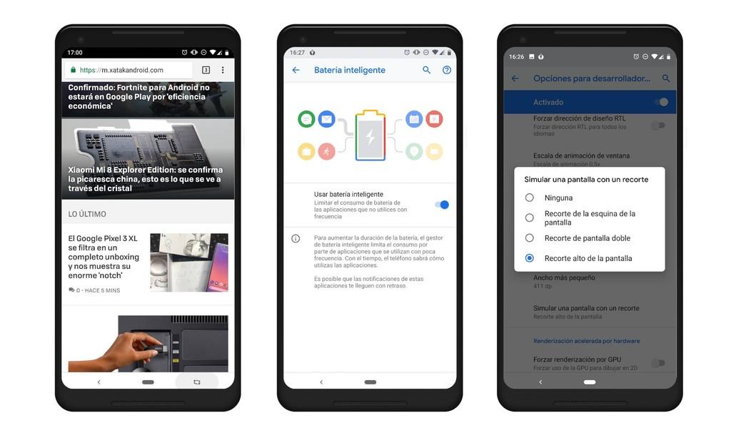 Android Pie Varios