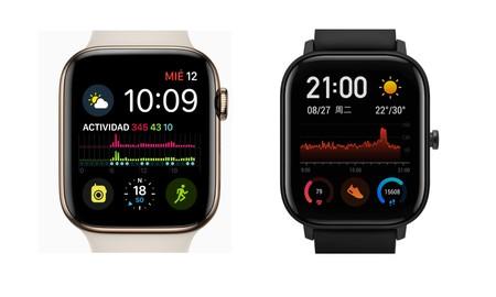 Sin reparos: Huami presenta su propio Apple Watch Series 4