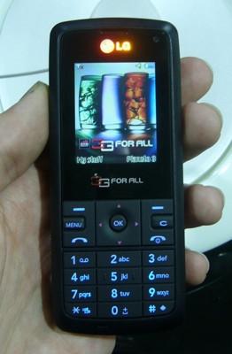 3GSM: LG KU250, el 3G de menos de 100 dólares