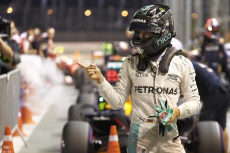 Nico Rosberg recupera el liderato del Campeonato tras ganar en el GP de Singapur 2016