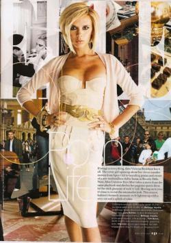 Victoria Beckham: 12 años como abanderada del estilo mundial (1996-2008)