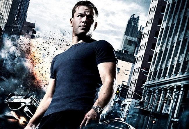 Imagen con el cartel de 'El ultimátum de Bourne'