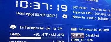 Cómo medir la temperatura de la CPU de tu ordenador