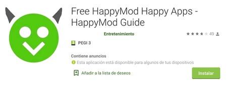 Happymod Google Play