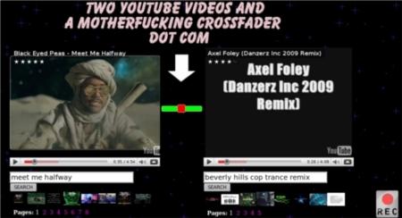 Haz de DJ usando vídeos de Youtube