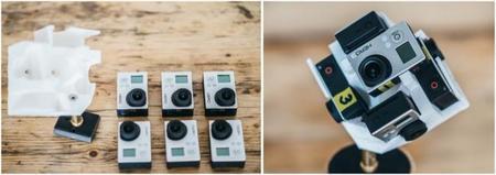 El sorprendente timelapse a 360º con seis cámaras GoPro, de Jonas Ginter